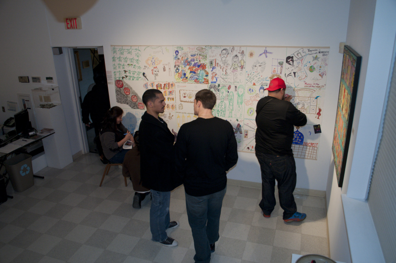 Interactive Mural Project 2012