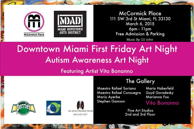Fabulous Autism Awareness Art Night in Miami
